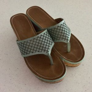 Kenneth Cole Reaction Fantasticle Mint Green Wedge